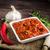 egészséges · házi · készítésű · vegan · hot · dog · tofu · kolbász - stock fotó © peteer