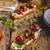 итальянский · брускетта · помидоров · чеснока · травы - Сток-фото © peteer