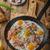 szynka · jaj · zioła · rustykalny · ser · obiedzie - zdjęcia stock © Peteer