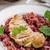 bife · ovo · gema · restaurante · pão · refeição - foto stock © peteer
