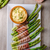asparagus on grill with bacon stock photo © peteer