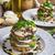 mozzarella · padlizsán · vegetáriánus · edény · diók · bazsalikom - stock fotó © peteer