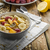 reggel · házi · készítésű · granola · adag · asztal · ágynemű - stock fotó © peteer