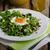 taze · salata · fındık · kuru · üzüm · sahanda · yumurta · zeytinyağı - stok fotoğraf © peteer