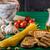garlic bread with pesto stock photo © peteer