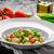 vegetariano · tomates · hierbas · aceite · de · oliva · ajo - foto stock © Peteer