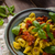 tortellini with roasted vegetable and herbs stock photo © peteer