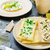 crisp crispbread with cheese spread with chives and crisp crispbread with curd cheese spread chives stock photo © peteer