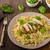 placa · delicioso · tortilla · nachos · queso - foto stock © peteer