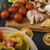 自家製 · ビッグ · トルテッリーニ · 詰まった · キノコ · トマト - ストックフォト © peteer