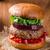 домашний · говядины · Burger · бекон · чеддер · сыра - Сток-фото © peteer