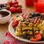 yaban · mersini · çilek · kapalı · çikolata · meyve · arka · plan - stok fotoğraf © peteer