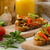 чеснока · травы · тоста · свежие · моцарелла · продовольствие - Сток-фото © peteer