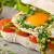prosciutto · mozzarella · basilicum · tomaten · vers - stockfoto © peteer