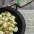 gnocchi pasta with ham spring onion stock photo © peteer