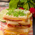 sandwich · kool · rundvlees · gekruid · dressing · vers - stockfoto © Peteer