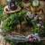 advent · koszorú · piros · gyertyák · különböző · díszek - stock fotó © peteer
