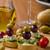 белое · вино · виноград · голубой · сыр · вино · стекла - Сток-фото © peteer