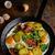 сыра · ветчиной · жареный · картофель · продовольствие · растительное - Сток-фото © peteer