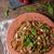 spaghetti · mozzarella · kerstomaatjes · eenvoudige · heerlijk · voedsel - stockfoto © Peteer