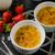 heerlijk · karamel · eenvoudige · dessert · restaurant · donkere - stockfoto © peteer