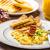 yumurta · panini · tost · tatlı · çörek · taze · portakal · suyu - stok fotoğraf © Peteer