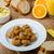 フライド · キノコ · ジュース · 新鮮な · オレンジジュース · 自家製 - ストックフォト © Peteer