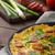 chorizo · salchicha · hierbas · tomates · alimentos · huevo - foto stock © Peteer