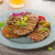 grilled pork chops with herbs and garlic potato pancakes stock photo © peteer