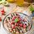 チーズケーキ · チョコレート · イチゴ · 白 · プレート · イチゴ - ストックフォト © peteer