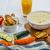 dynia · krem · zupa · parmezan · toast · biały - zdjęcia stock © peteer