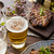 grilled pork meat with beer stock photo © peteer