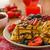 belgian waffles with blueberries strawberries stock photo © peteer