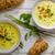kerrie · soep · schimmelkaas · baguette · kruiden - stockfoto © Peteer