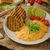 salsicha · ovos · prato · ovos · mexidos · rústico · mesa · de · madeira - foto stock © peteer