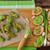 frango · asas · legumes · isolado · branco · comida - foto stock © peteer