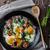 tocino · huevos · sabroso · desayuno · frito · rojo - foto stock © peteer