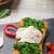 яйцо · Салат · деревенский · зеленый · свежие · блюдо - Сток-фото © peteer