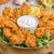 鶏 · ストリップ · ニンニク · ディップ · 食品 · 写真 - ストックフォト © Peteer