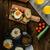 素朴な · 英語 · 豆 · トースト - ストックフォト © peteer