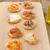 пиццы · Ломтики · деревянный · стол · продовольствие · домой - Сток-фото © peteer