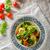 tortellini · töltött · hús · pörkölt · paradicsom · bazsalikom - stock fotó © Peteer