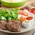 子羊 · レタス · サラダ · トマト · ハーブ · 食品 - ストックフォト © peteer