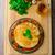 вегетарианский · плоская · маисовая · лепешка · соус · болоньезе · шпинат · чеддер - Сток-фото © Peteer