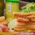 говядины · сэндвич · обеда · цвета · еды - Сток-фото © peteer