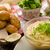 pretzel rolls with cheese dip stock photo © peteer