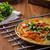 tomaten · kruiden · chili · weinig · sla · binnenkant - stockfoto © Peteer