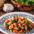 cordeiro · cogumelo · cogumelos · frigideira · comida · jantar - foto stock © peteer