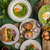 szakács · paprikák · marhahús · filé · asztal · fűszer - stock fotó © peteer
