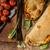 jamón · mozzarella · queso · alimentos · pan · comida - foto stock © peteer
